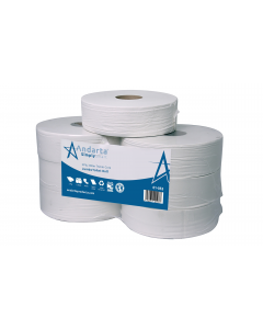 Andarta 2Ply 300m 76mm Core Jumbo Toilet Roll (Pack 6)