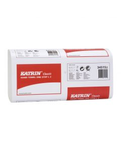 Katrin 2Ply White W/Fold Hand Towel (Box 2310)