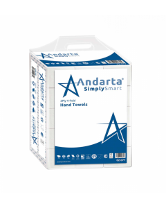 Andarta 2 Ply V/Fold Hand Towels (Box 4000)