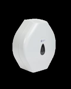 Andarta Plastic Lockable Jumbo Toilet Roll Dispenser (1 x Dispenser)