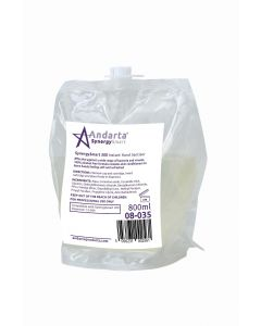 Andarta System 300 Instant Hand Sanitiser Foam Cartridge (6x 800ml)