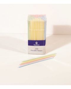 Flexi Straws in Dispensing Pack (Box of 250)