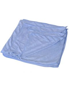 Microfibre Cleaning Cloth Blue - Please use 34-017-BL-A