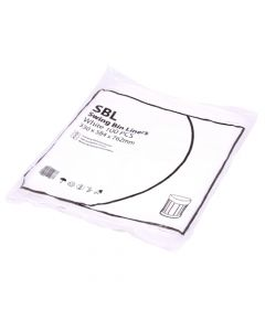White Light Duty Swing Bin Liner 13x23x30 (Box of 1000)