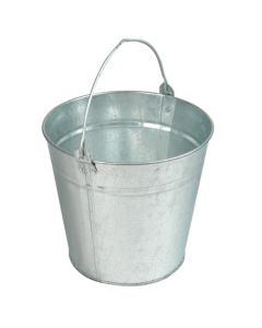 12Ltr Galvanised Bucket