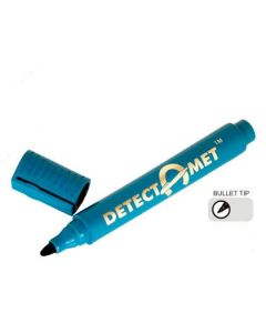 Detectable Permanent Marker Pens- bullet tip - black ink