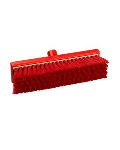 "12"" Bristle Flat Sweeping Broom Resin Set"
