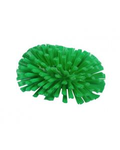 Stiff Bristle Tank Brush Green