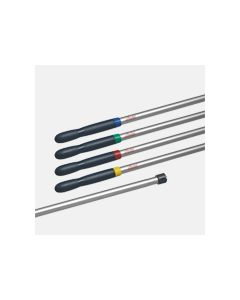 Vileda Supermop Handle c/w Interchangable Blue  Green  Yellow and Red Clips