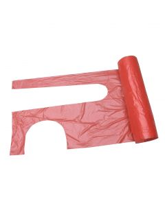 27x42 Poly Aprons Roll Red (1x100)