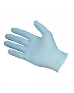 Blue Nitrile Powderfree Gloves Extra Large