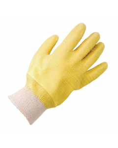 Gristle Knit Wrist Gloves Yellow (12 Pairs)