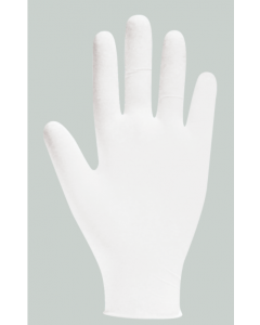 Natural Clear Latex Powderfree Gloves Large