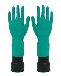 Rubber Gloves M/W Green Small (12 Pairs)