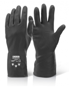 Rubber Gloves H/W (10 Pairs)