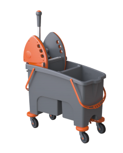 Duetto 40Ltr Double Bucket Mopping System