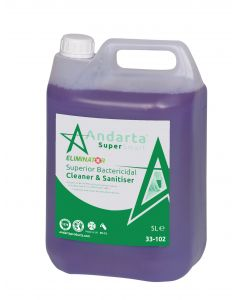 Andarta Superior Bactericidal Cleaner and Sanitiser (5Ltr)