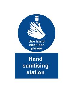 Sanitising Poster