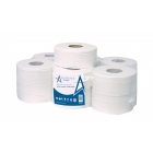 Andarta 2Ply 200m 76mm Core Mini Jumbo Toilet Roll (Pack 12)