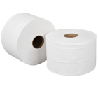 1Ply 390m 76mm Core Jumbo Toilet Roll (Pack 6)
