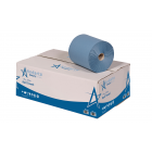 Andarta 1Ply 200m Blue Roll Towel (Pack 6)