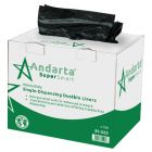 Andarta Black Heavy Duty Sack in Dispenser Carton 29x34 (Box of 100)