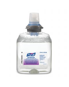 LTX Purell Advanced Foam Sanitiser (2x1.2Ltr)