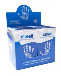 Clinell Antibacterial Patient Hand Wipe