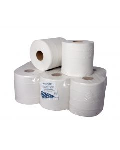 Andarta 2Ply White 18cmx150m Centre Feed Roll
