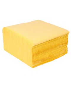 2Ply 33cm Napkins Yellow