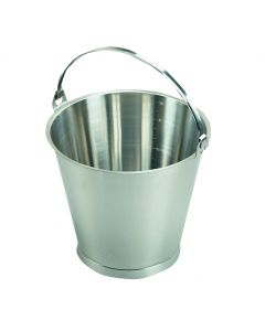 10Ltr Stainless Steel Bucket