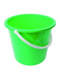 10Ltr Plastic Bucket Green