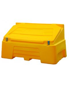 14 Cu.ft Grit Bin c/w Hasp & Staple