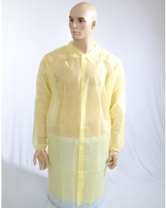 Polyprop Coverall Yellow Large