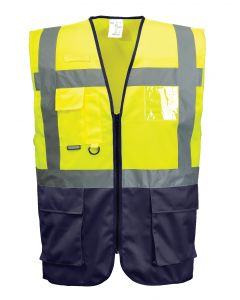 Yellow/Royal Vest Medium