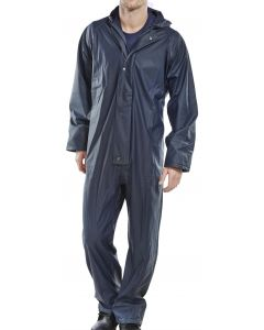 Super B-Dri Waterproof Coverall Navy Medium